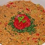 Roter Couscous - Salat