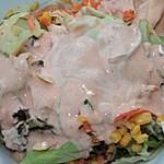 Tomaten-Blitzdressing für gemischten Salat