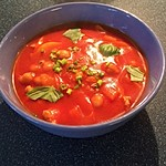 Afrikanische Tomatensuppe
