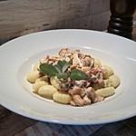 Gnocchi mit Pfifferlingen und Salbei
