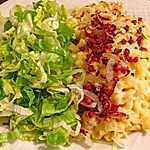 Allgäuer Käsespätzle mit Zwiebeln